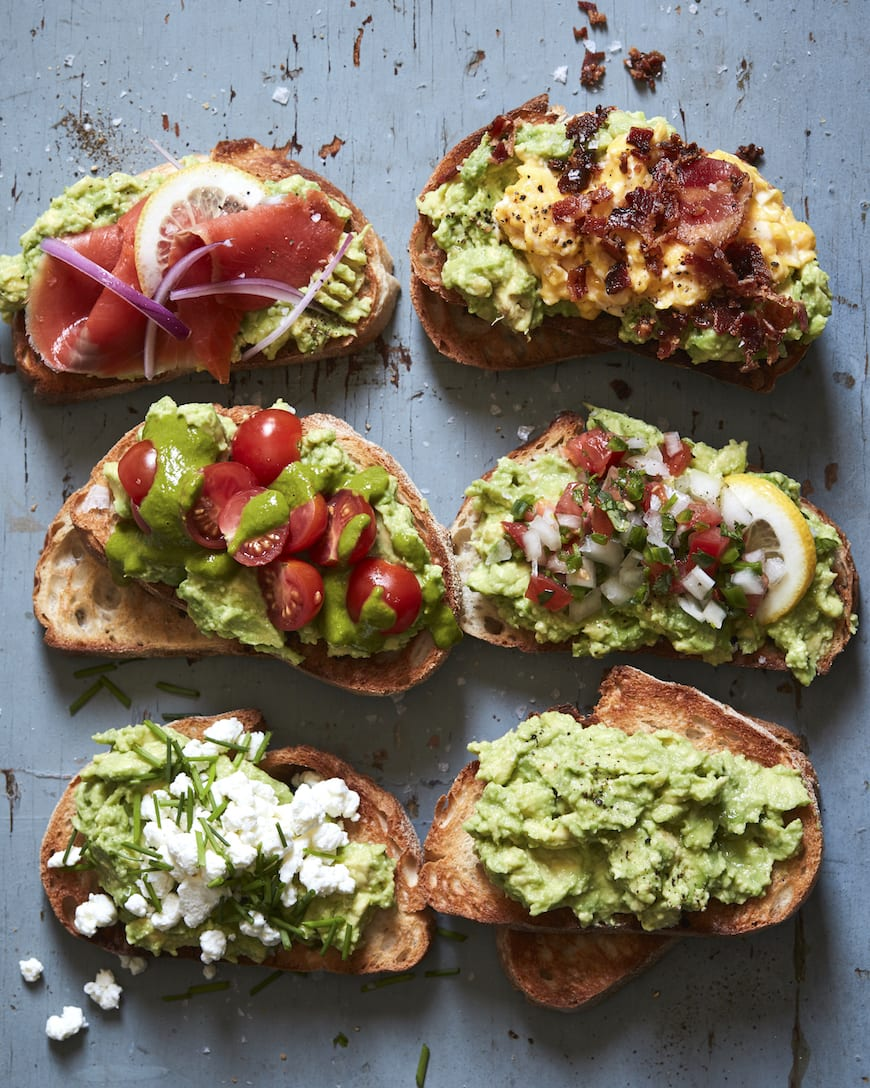 Avocado Toast 5 Ways from www.whatsgabycooking.com (@whatsgabycookin)