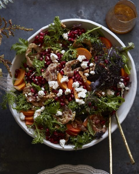 Fall Farmers Market Salad from www.whatsgabycooking.com (@whatsgabycookin)