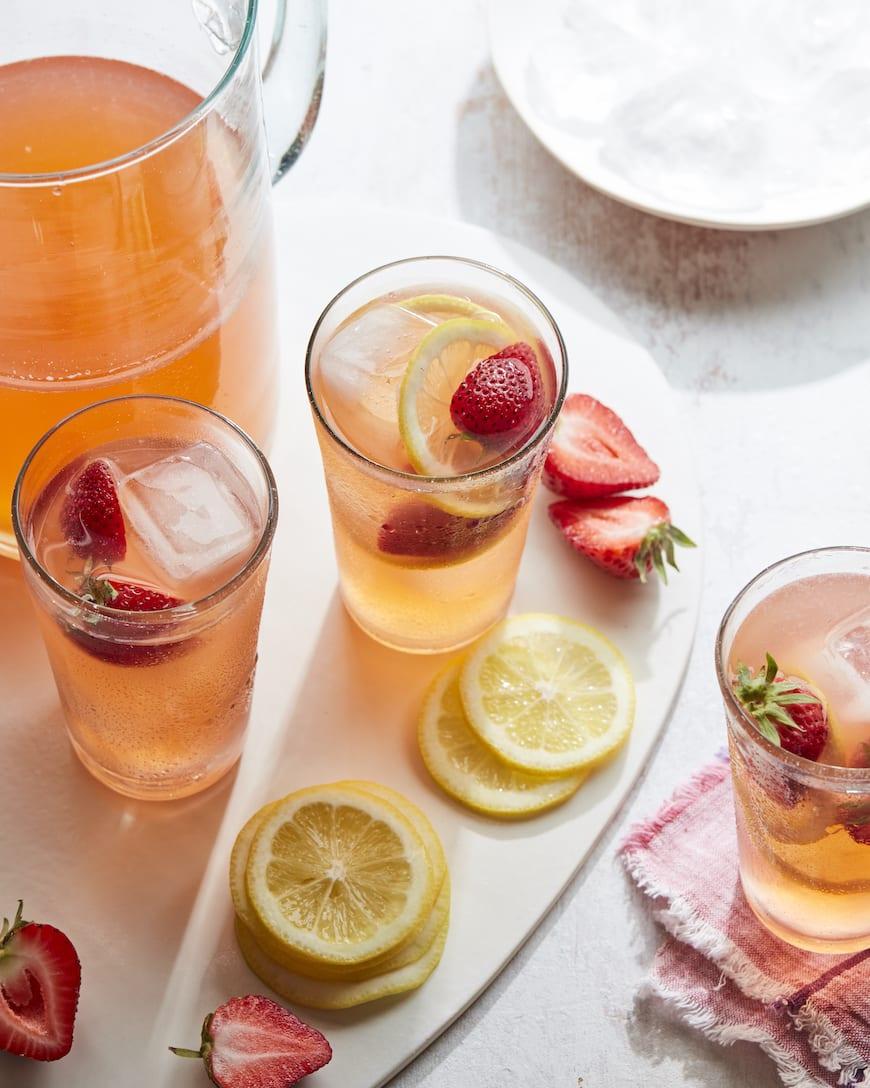 Spiked Pink Lemonade from www.whatsgabycooking.com (@whatsgabycookin)