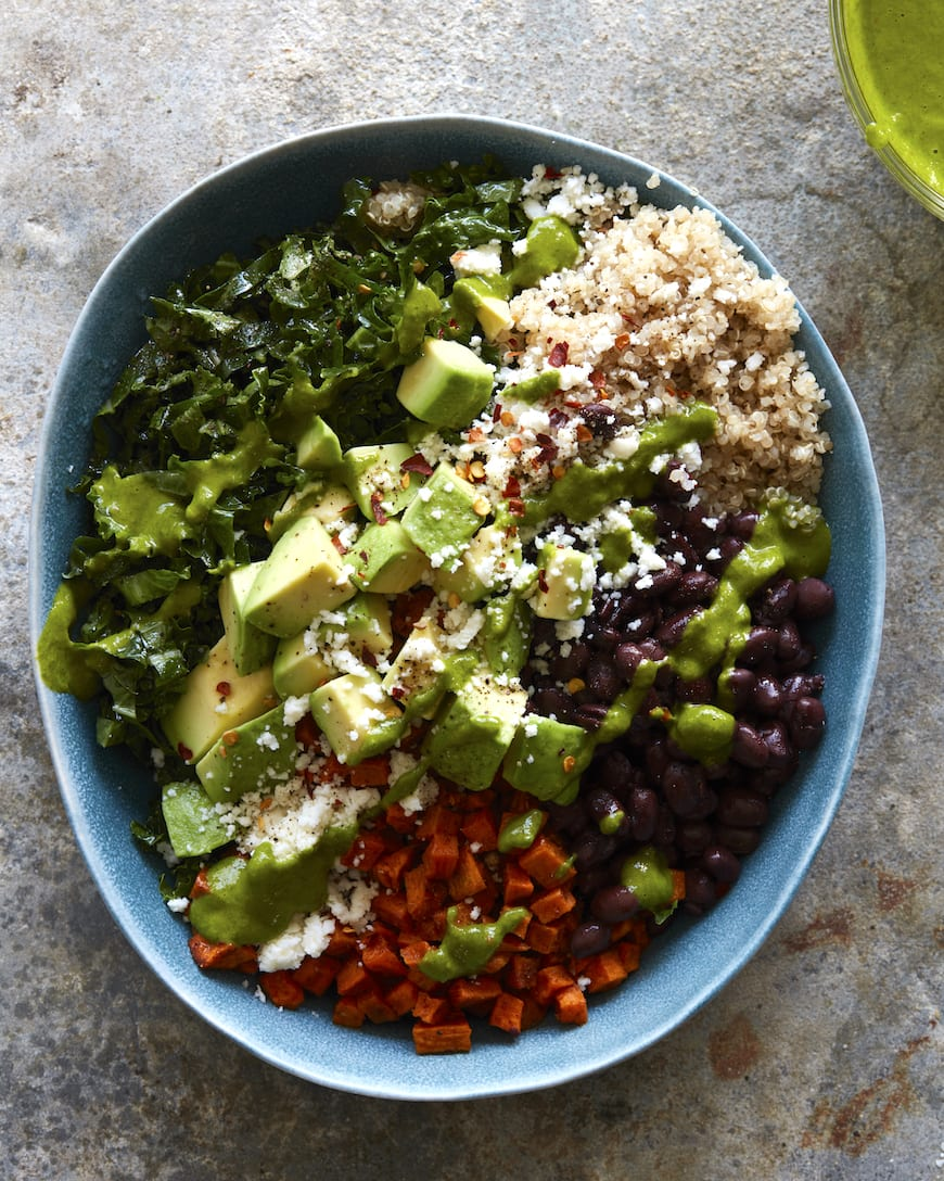 Sweet Potato Southwestern Quinoa Bowl from www.whatsgabycooking.com (@whatsgabycookin)