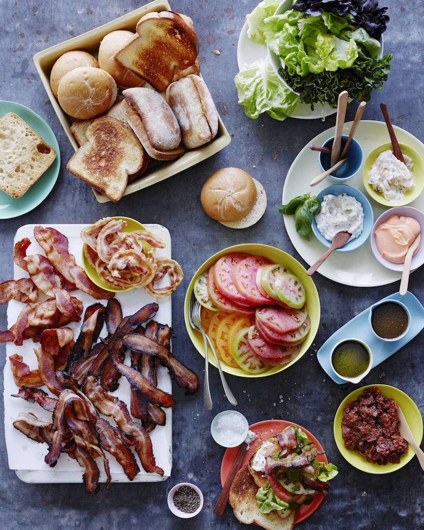 BLT Bar from www.whatsgabycooking.com (@whatsgabycookin)