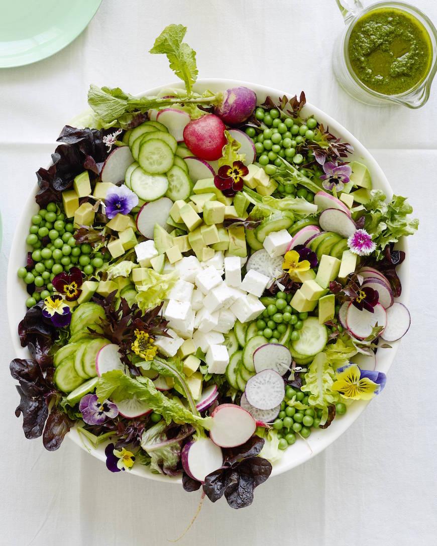 Spring Pea Salad from www.whatsgabycooking.com (@whatsgabycookin)