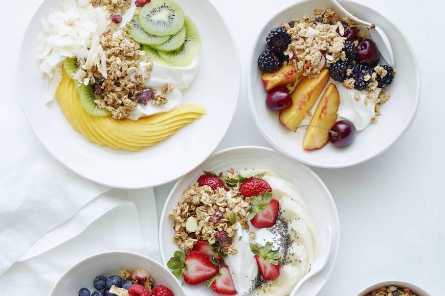 Yogurt Bowls