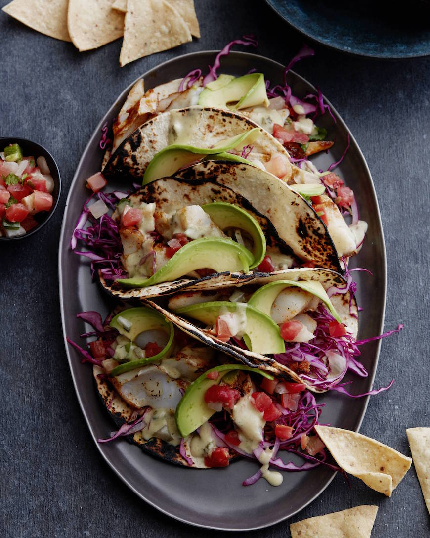 Grilled Mahi Mahi Fish Tacos from www.whatsgabycooking.com (@whatsgabycookin)