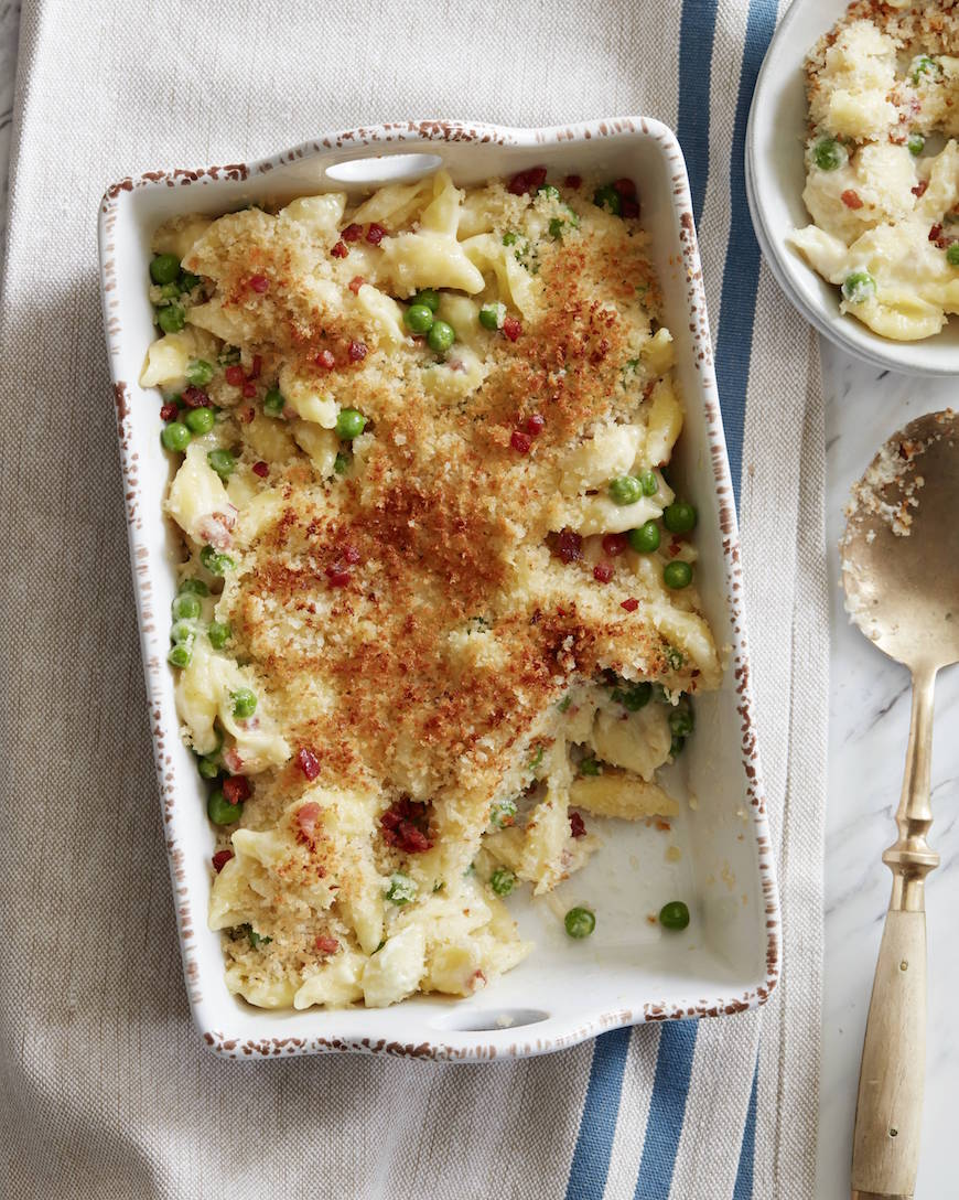 Spring Mac and Cheese from www.whatsgabycooking.com (@whatsgabycookin)