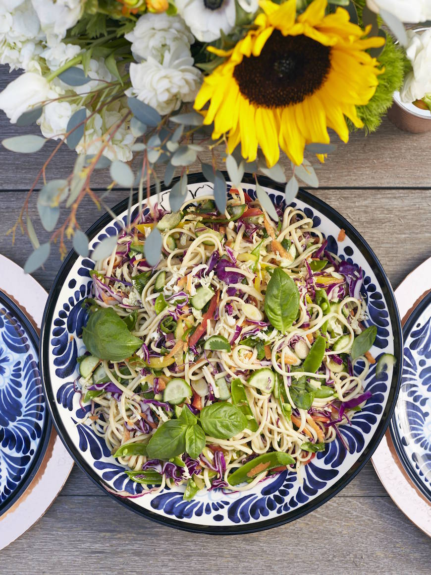 Sesame Noodle Salad from www.whatsgabycooking.com (@whatsgabycookin)