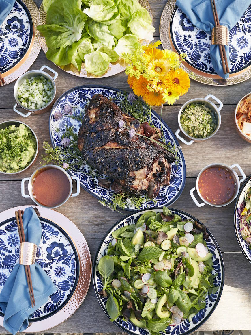 Bo Ssam Dinner Menu from www.whatsgabycooking.com (@whatsgabycookin)