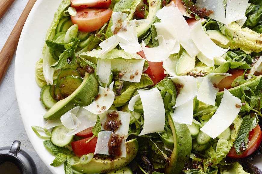 The What's Gaby Cooking House Salad from www.whatsgabycooking.com (@whatsgabycookin)