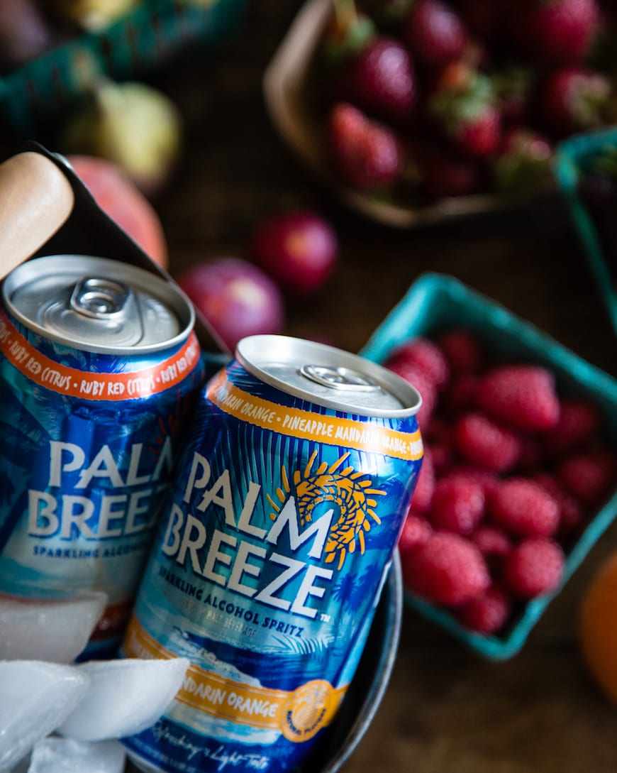 The Ultimate Summer Fruit Platter with Palm Breeze