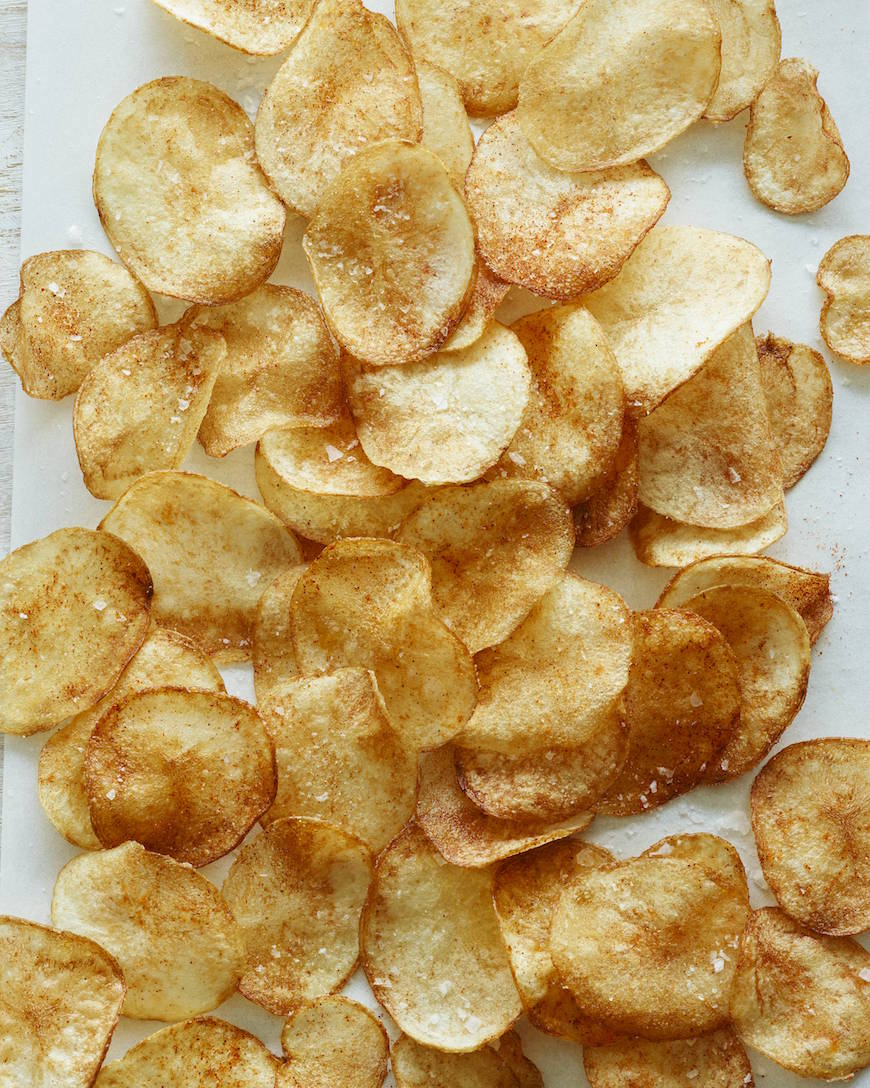 Homemade BBQ Potato Chips from www.whatsgabycooking.com (@whatsgabycookin)