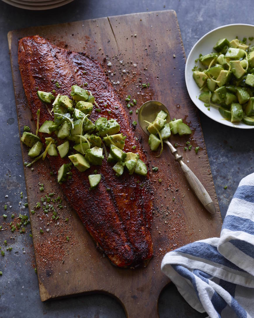 Blackened Salmon from www.whatsgabycooking.com (@whatsgabycookin)