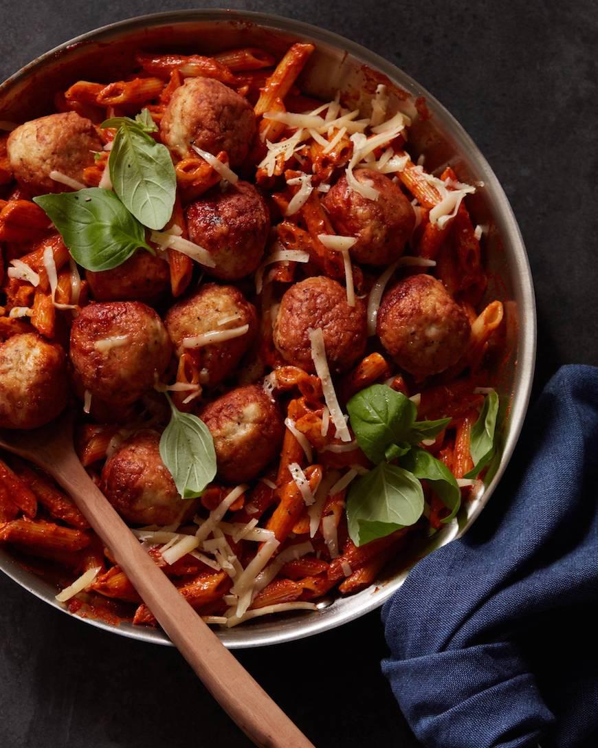 how to prepare chicken meatballs