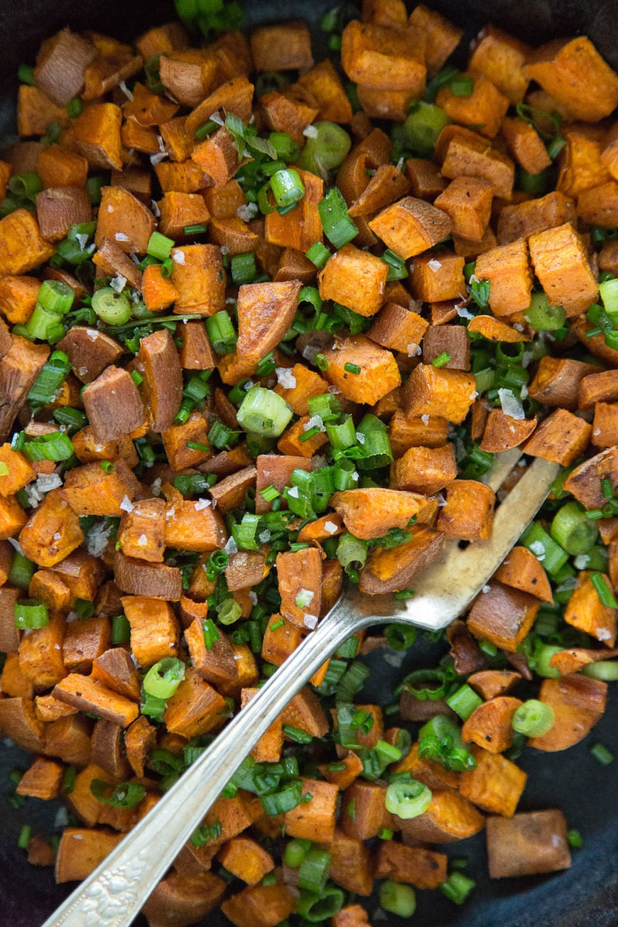 Roasted Sweetpotatoes with Chinese 5 Spice