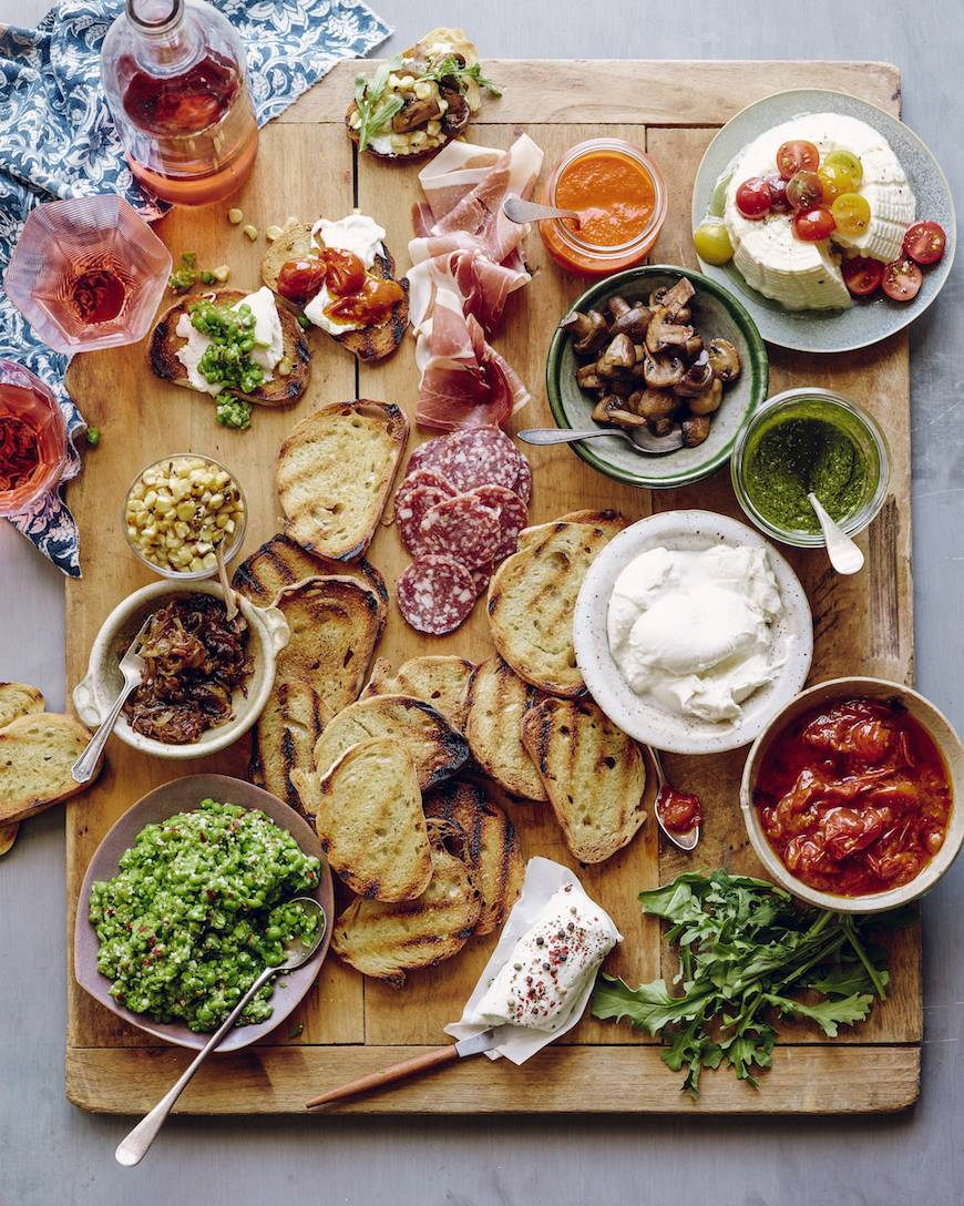 How To: Bruschetta Bar // What's Gaby Cooking