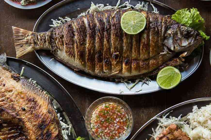 Amazon Fish Lunch