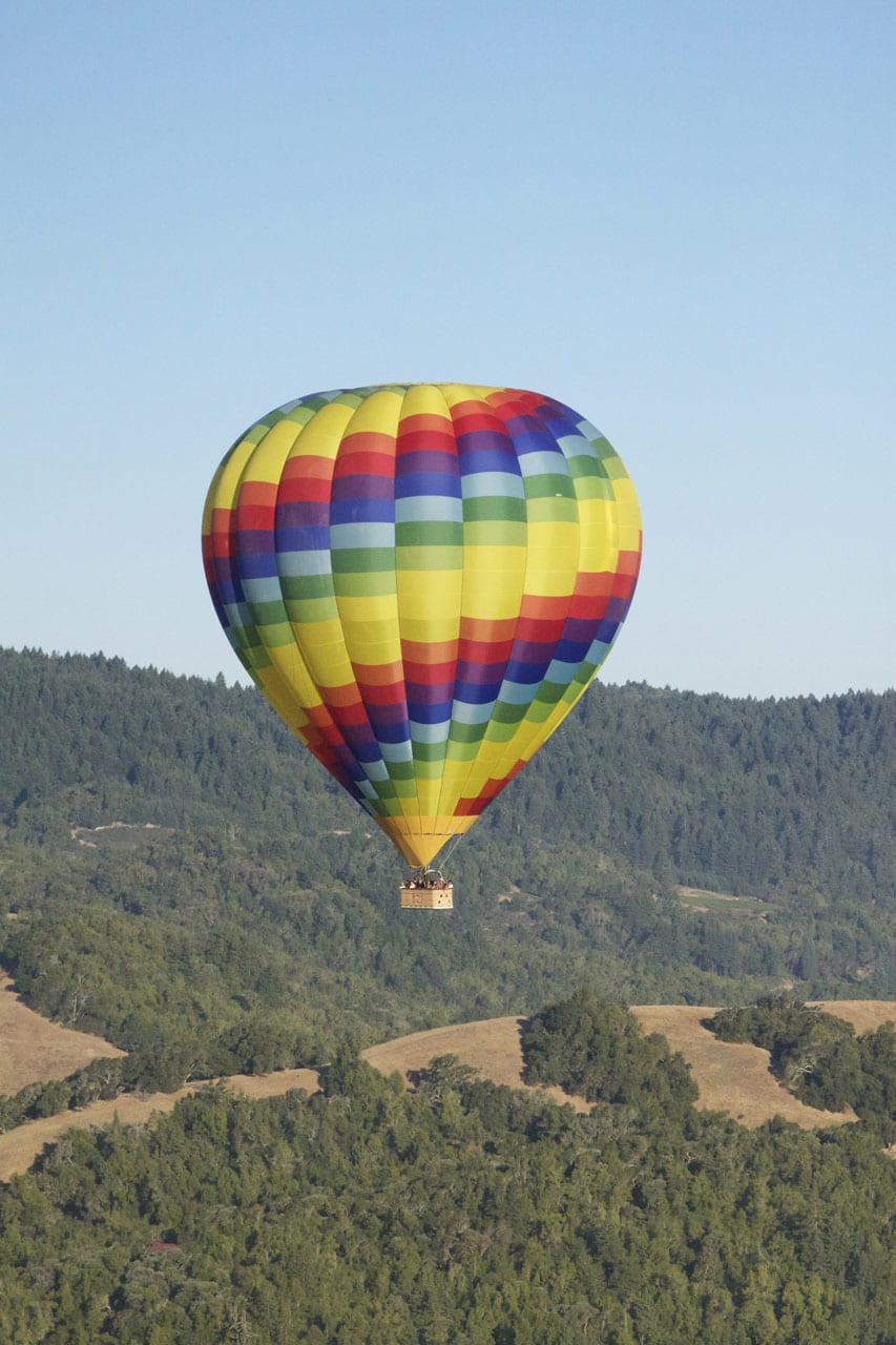 Gaby's Guide to Napa :: Hot Air Ballooning