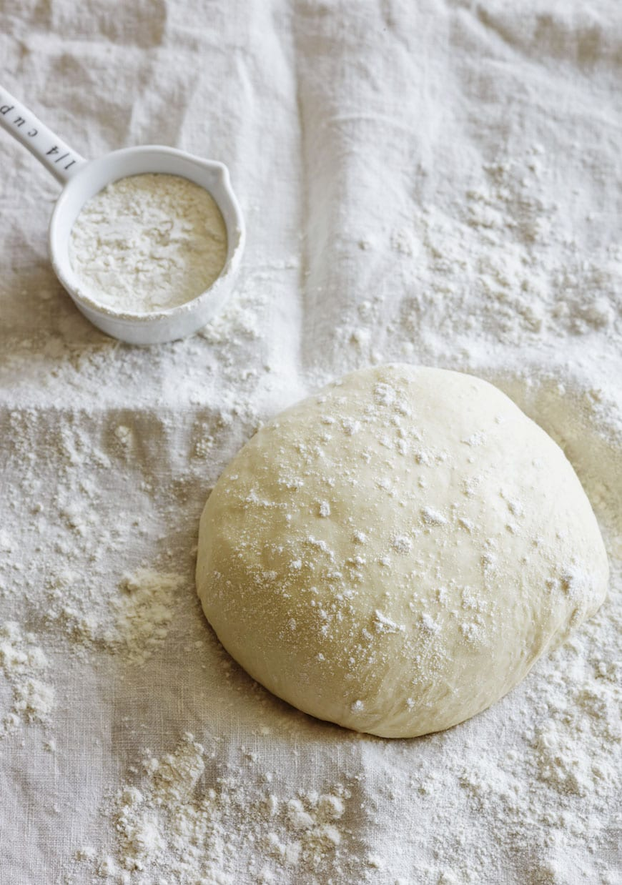 Homemade Pizza Dough - the only pizza dough recipe you'll ever need!