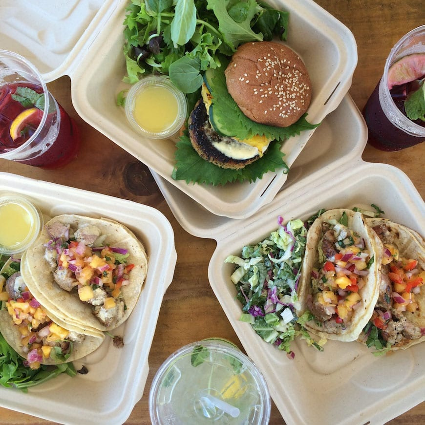 Ahi Tacos and Salmon Burgers // Gaby's Guide to Honolulu