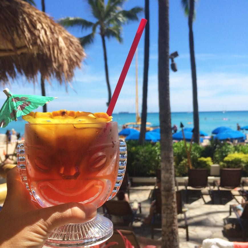 The most famous Mai Tai // Gaby's Guide to Honolulu