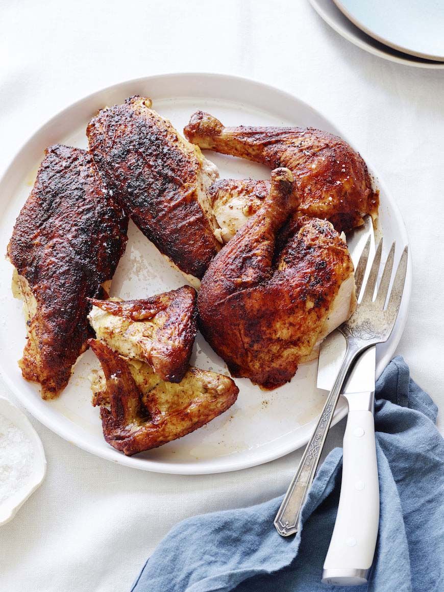Paprika Roasted Chicken