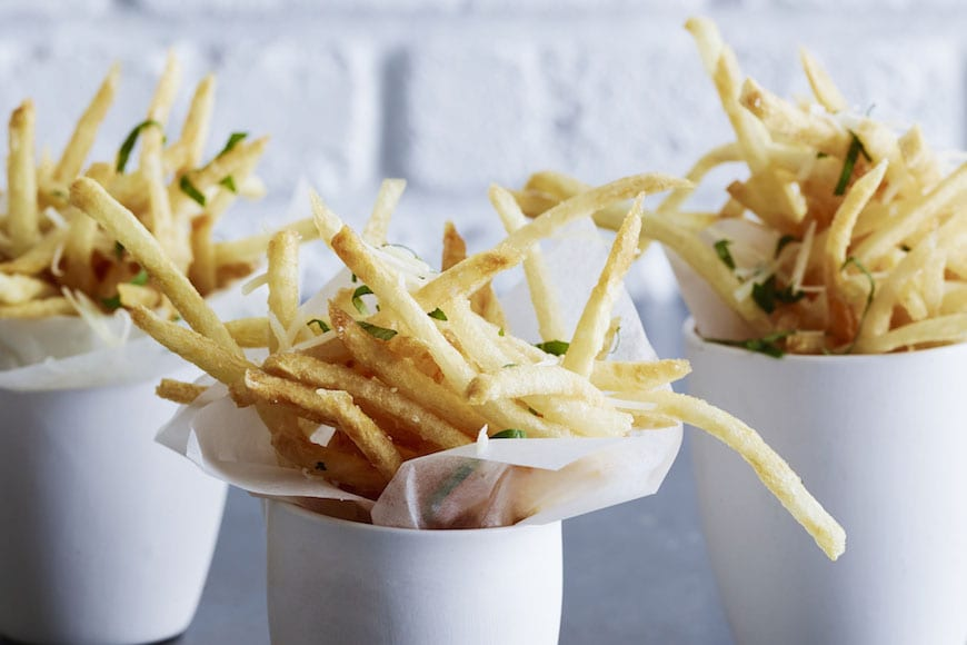 Pecorino Basil Skinny Fries