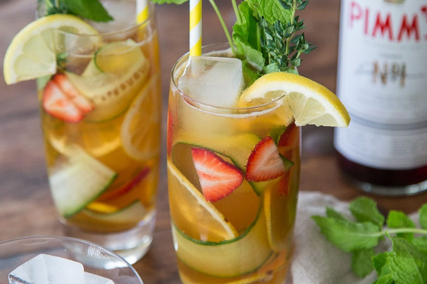 Pimm's Cup - What's Gaby Cooking