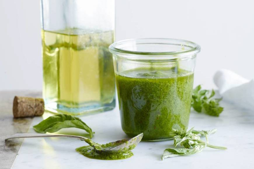 Simple Basil Vinaigrette