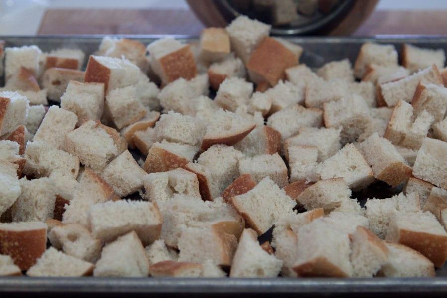 Parmesan and Leek Sourdough Stuffing Recipe