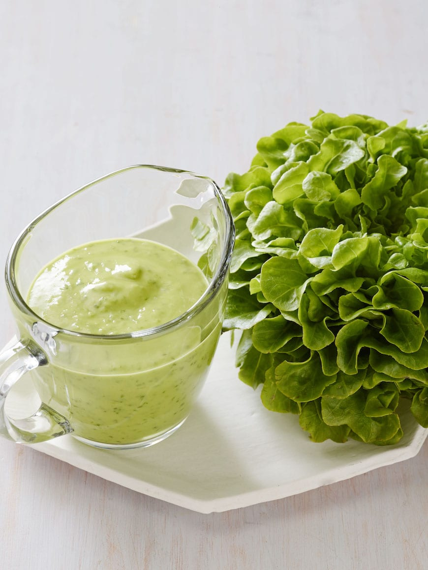 Green Goddess Dressing - What's Gaby Cooking