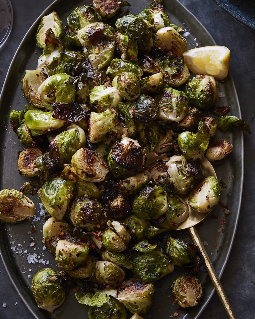 Sautéed Brussels Sprouts from www.whatsgabycooking.com (@whatsgabycookin)