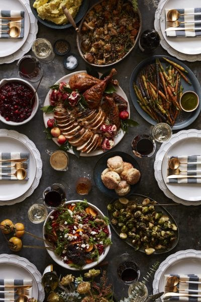 What's Gaby Cooking Thanksgiving Menu from www.whatsgabycooking.com (@whatsgabycookin)