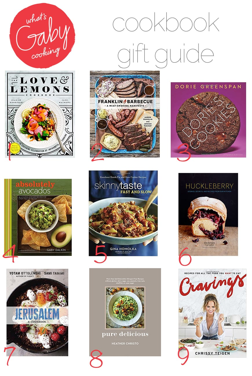 What's Gaby Cooking Gift Guide / Cookbooks (from www.whatsgabycooking.com) @whatsgabycookin
