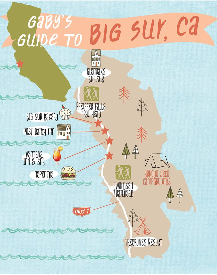 Gaby S Guide To Big Sur What S Gaby Cooking