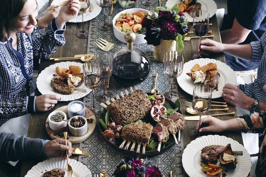 Winter Dinner Party Menu