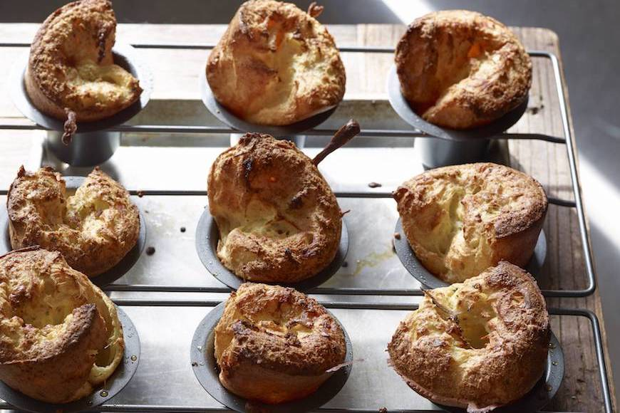 Herb and Cheese Popovers - What's Gaby Cooking