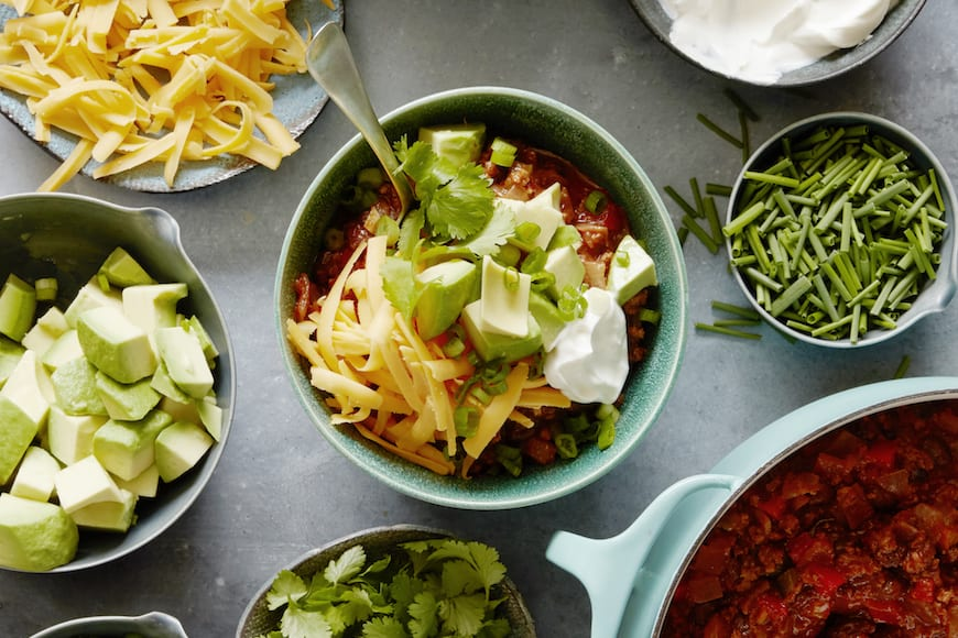 Smoky Beef and Black Bean Chili from www.whatsgabycooking.com (@whatsgabycookin)