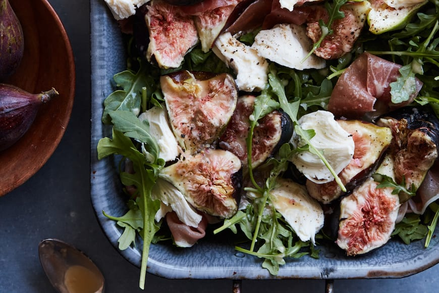 Fig Salad with Fresh Mozzarella