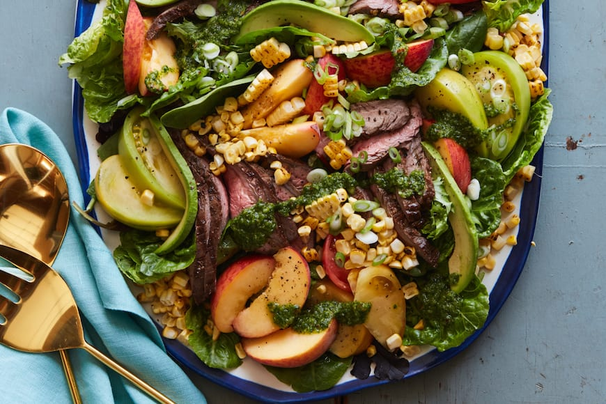 Loaded Grilled Steak Salad