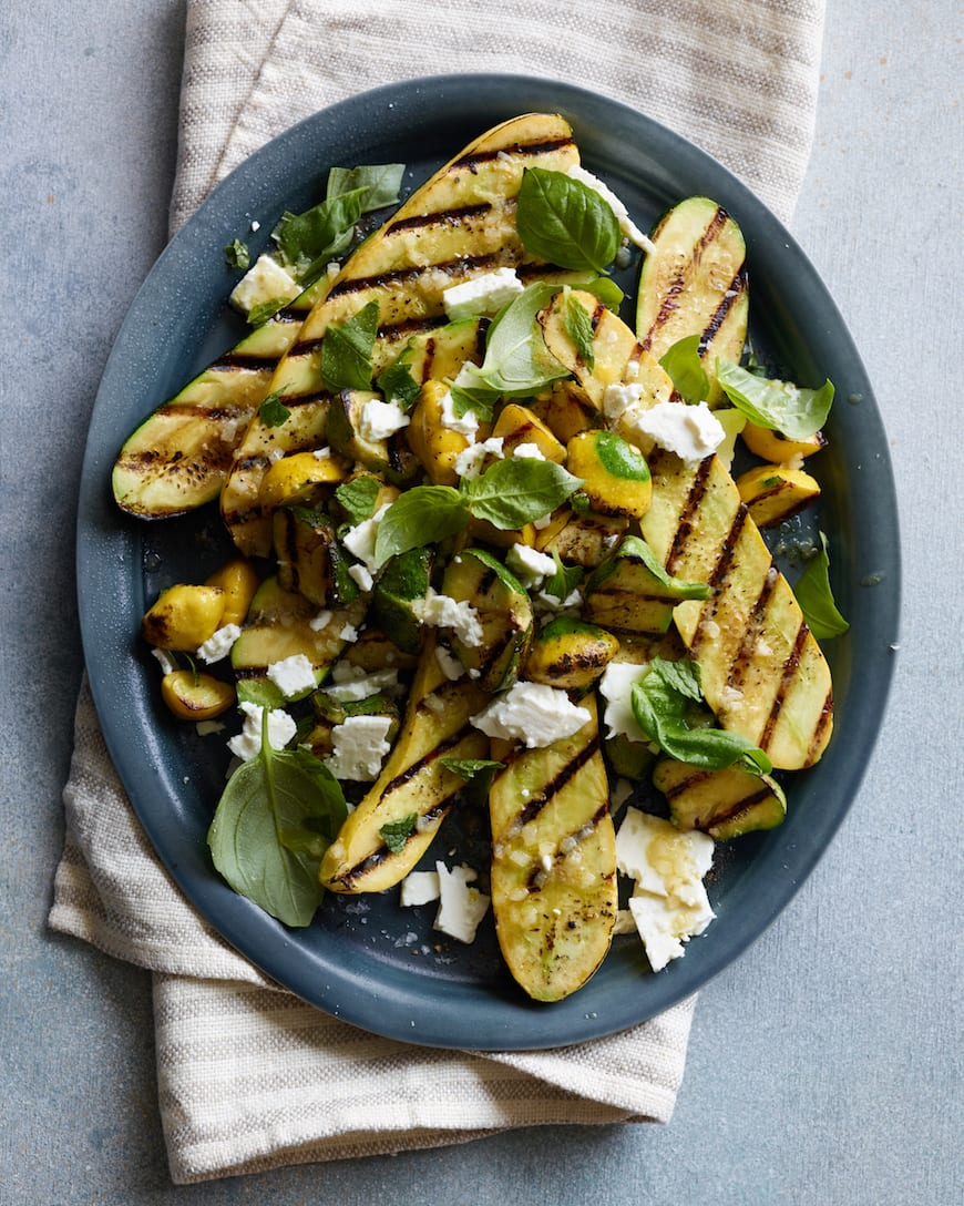 Grilled Summer Squash from www.whatsgabycooking.com (@whatsgabycookin)