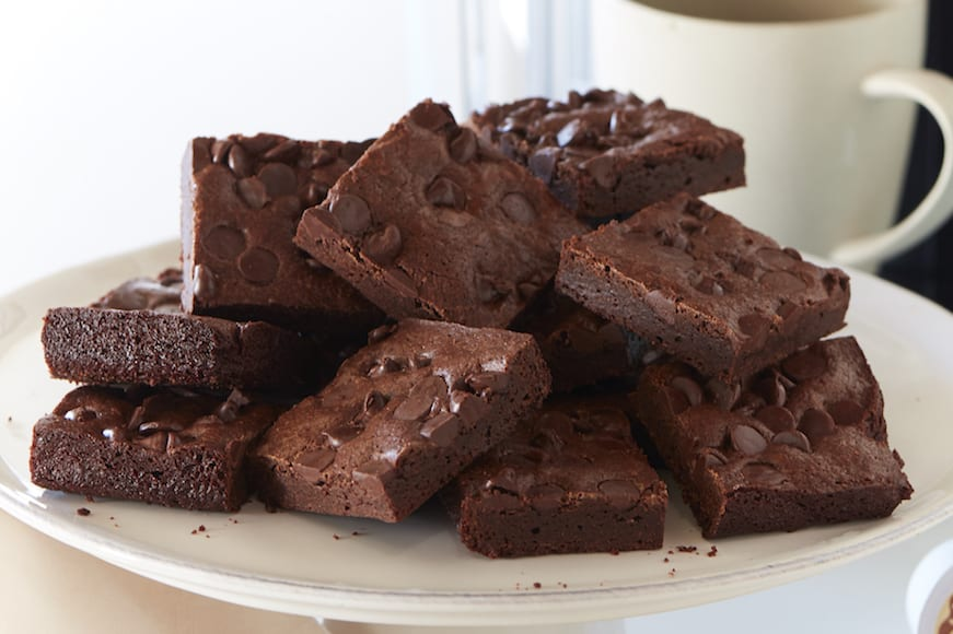 Double Chocolate Mocha Brownies from www.whatsgabycooking.com (@whatsgabycookin)