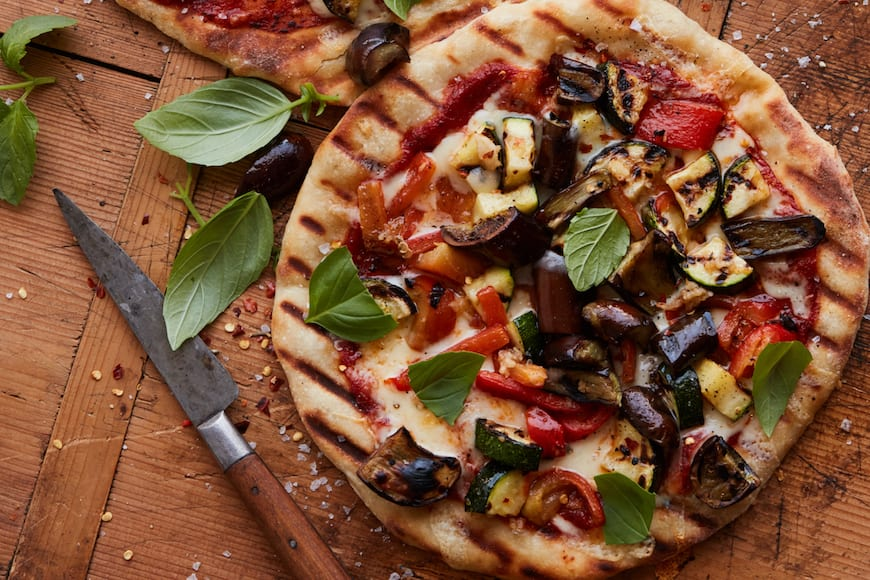 Grilled Vegetable Pizza - What's Gaby Cooking