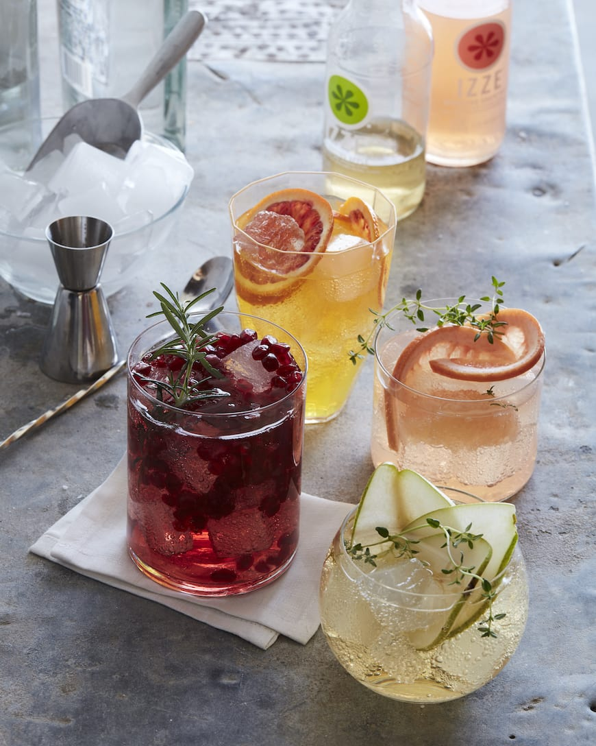 How To: DIY Spritz Bar from www.whatsgabycooking.com (@whatsgabycookin)