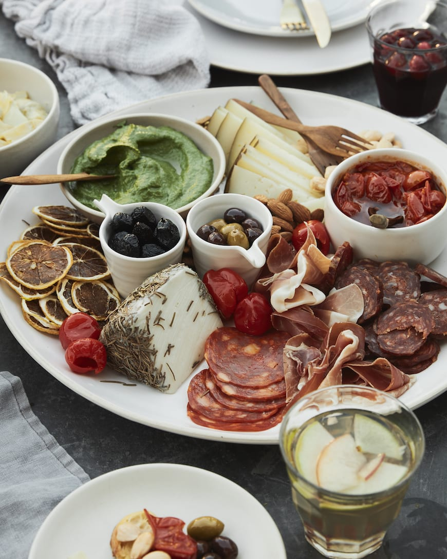 Spanish Tapas Board from www.whatsgabycooking.com (@whatsgabycookin)