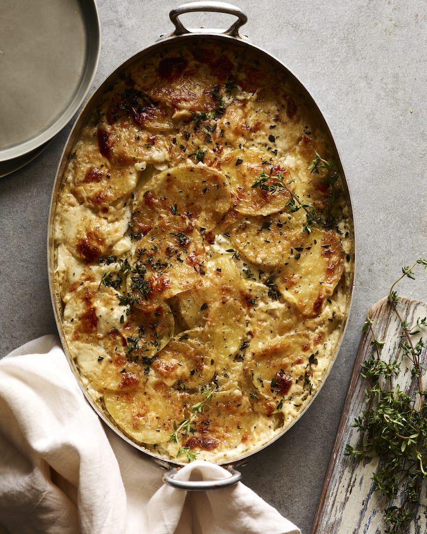 Cheesy Potato Gratin from www.whatsgabycooking.com (@Whatsgabycookin)
