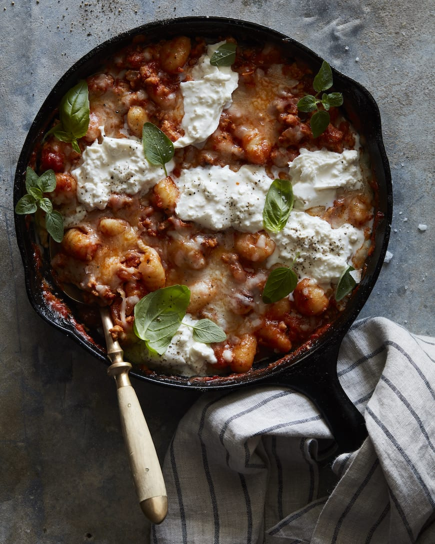 Chicken Parmesan Gnocchi Bake from www.whatsgabycooking.com