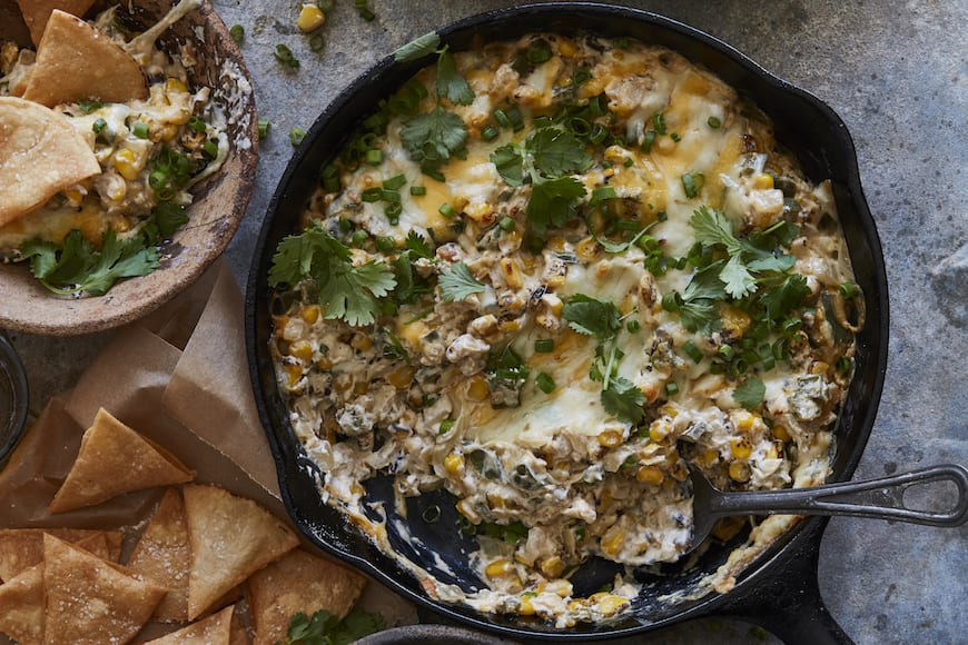 Poblano Corn Cheese Dip