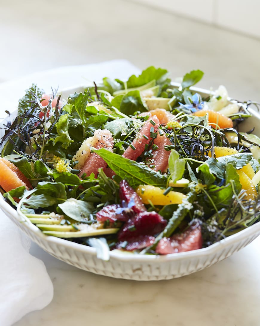 Citrus Farmers Market Salad from www.whatsgabycooking.com (@whatsgabycookin)