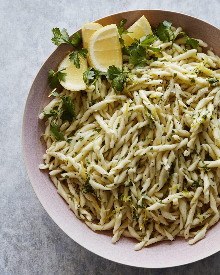 Pasta Gremolata from www.whatsgabycooking.com (@whatsgabycookin)