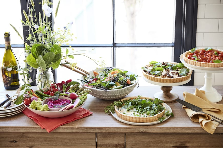 Spring Brunch Menu from www.whatsgabycooking.com (@whatsgabycookin)