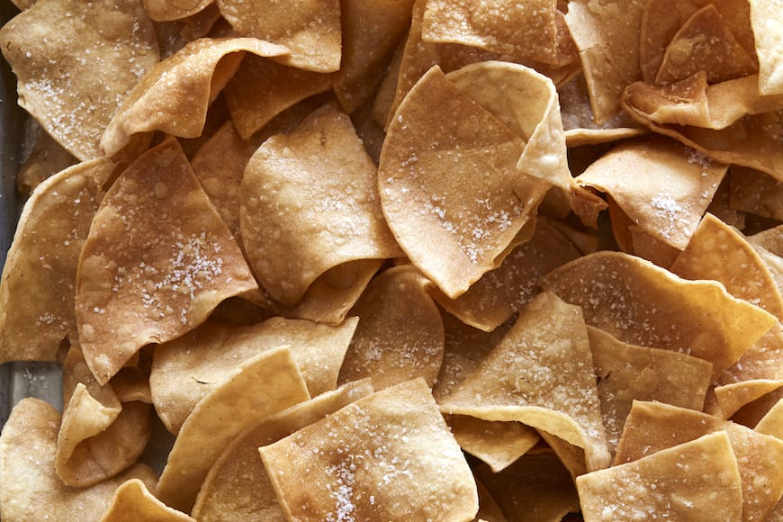 Homemade Tortilla Chips from www.whatsgabycooking.com (@whatsgabycookin)
